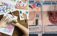 讓人發毛的「小朋友父親節畫作」瘋傳 網發現圖藏「求救信號」!