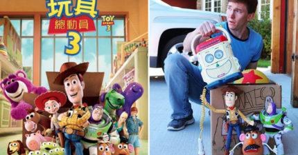影/超狂兄弟打造現實版《玩具總動員》 神還原「電影場景」30萬粉絲讚爆!