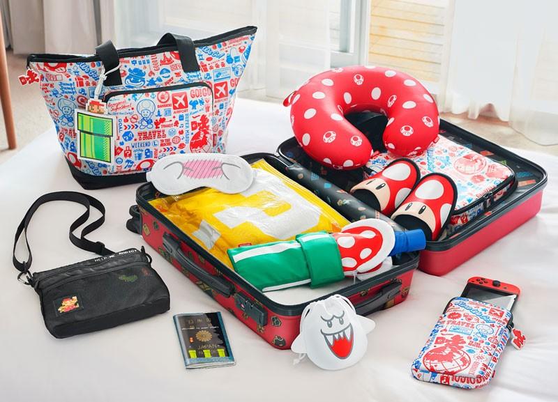 任天堂推「瑪利歐旅行組」萌壞粉絲 打開行李箱「水管世界」都在裡面!