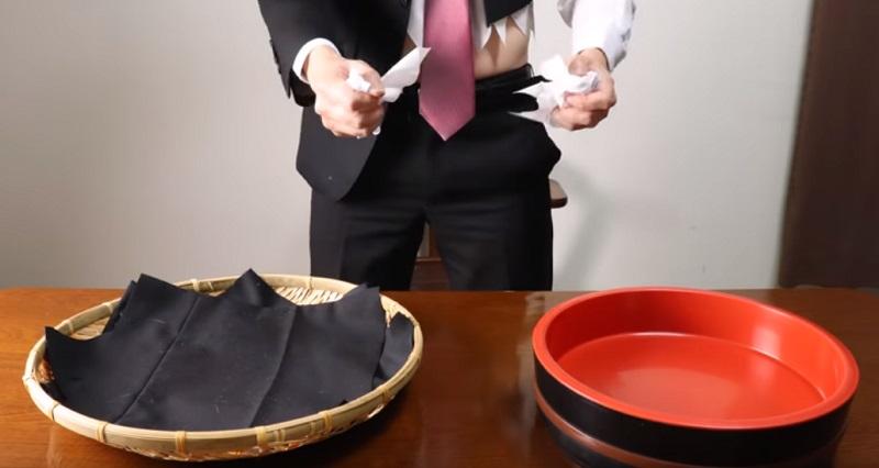 影/超狂YouTuber模擬「被辭退心境」 怒撕文件、領帶切8段…最後竟都變壽司?