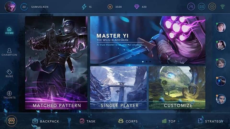 《英雄聯盟》要出手游了?網驚見「手游畫面設計圖」流出 玩家卻批:和《傳說》有啥不同?