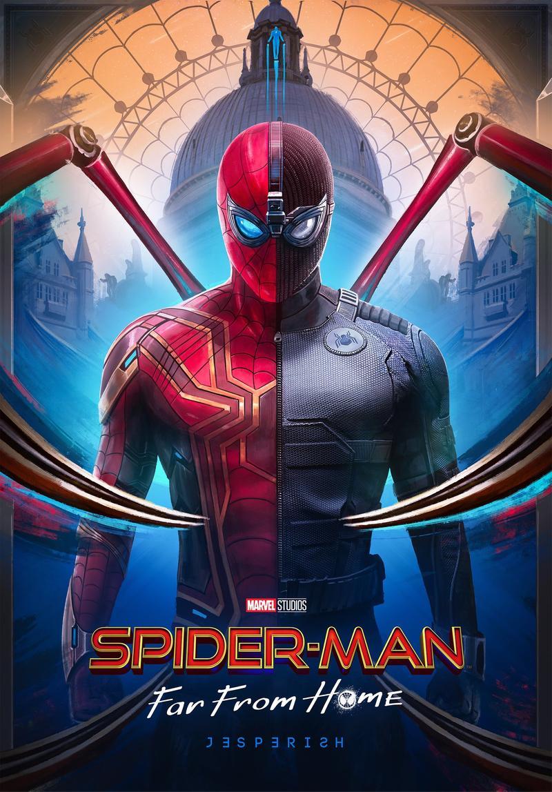 《蜘蛛人》海報醜到被罵「設計師是罷工了?」粉絲怒到「自己來的版本」超驚人!