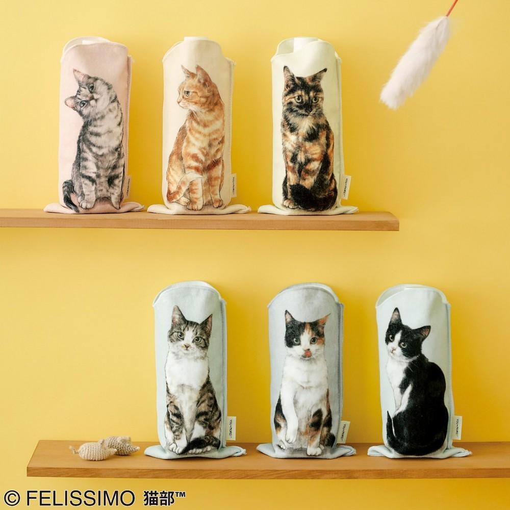 日品牌把貓「印在杯套上」 超擬真造型貓奴全暴動:水壺秒變小萌物❤