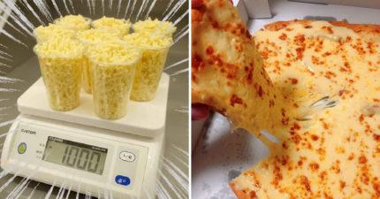 達美樂推超狂披薩「光起司就有1公斤」 整片熱量「抵2天份」起司控暴動:不管,我想吃!