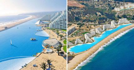 豪華度假村有可划船的「壯觀巨型游泳池」 一公里「無邊際絕美海景」超夢幻!