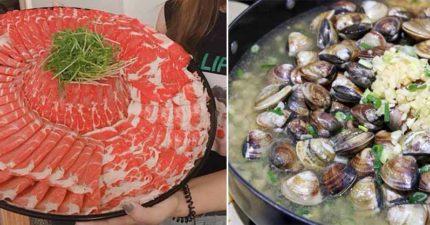 3家吃到會崩潰的「巨人盤」超猛火鍋 台南這鍋「男人超補」蛤蜊有3公斤!