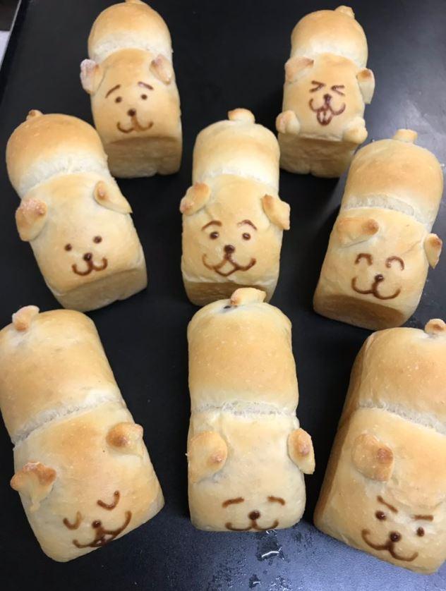 神手工師傅製作「柯基PP麵包」引暴動 「小肥腿+短尾」網友超嗨:好想咬❤