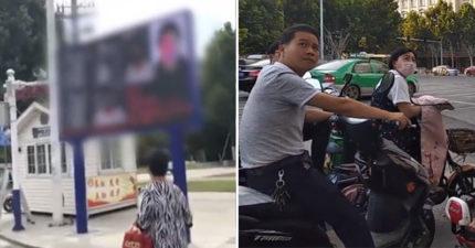 中國新科技「逮到闖紅燈」秒現身大螢幕 駕駛「詳細資料」全公布...連路人都傻眼!