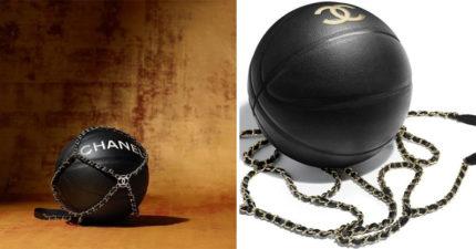 Chanel推「純黑燙金小牛皮」天價奢華籃球 超認真「比賽規格」網傻:連NBA都慘輸