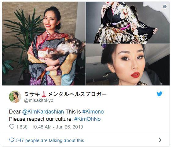 金卡戴珊設計「最緊身膚色和服」被罵爆 海量櫻花妹「暴怒反嗆」:請尊重!