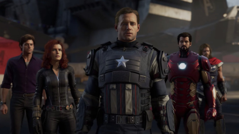漫威推出官方《復仇者聯盟》遊戲!美國隊長「醜到崩潰」腦粉超傻眼:這是他爸?