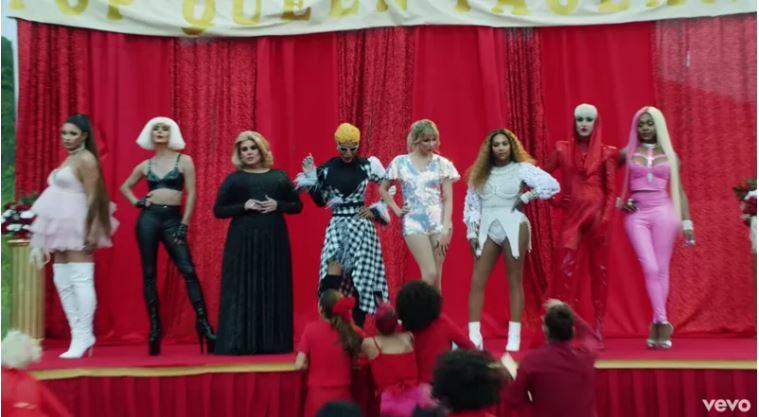 13個泰勒絲「挺彩虹新歌」的驚喜彩蛋 跟凱蒂佩芮「世紀大和解」半年前早有預告!