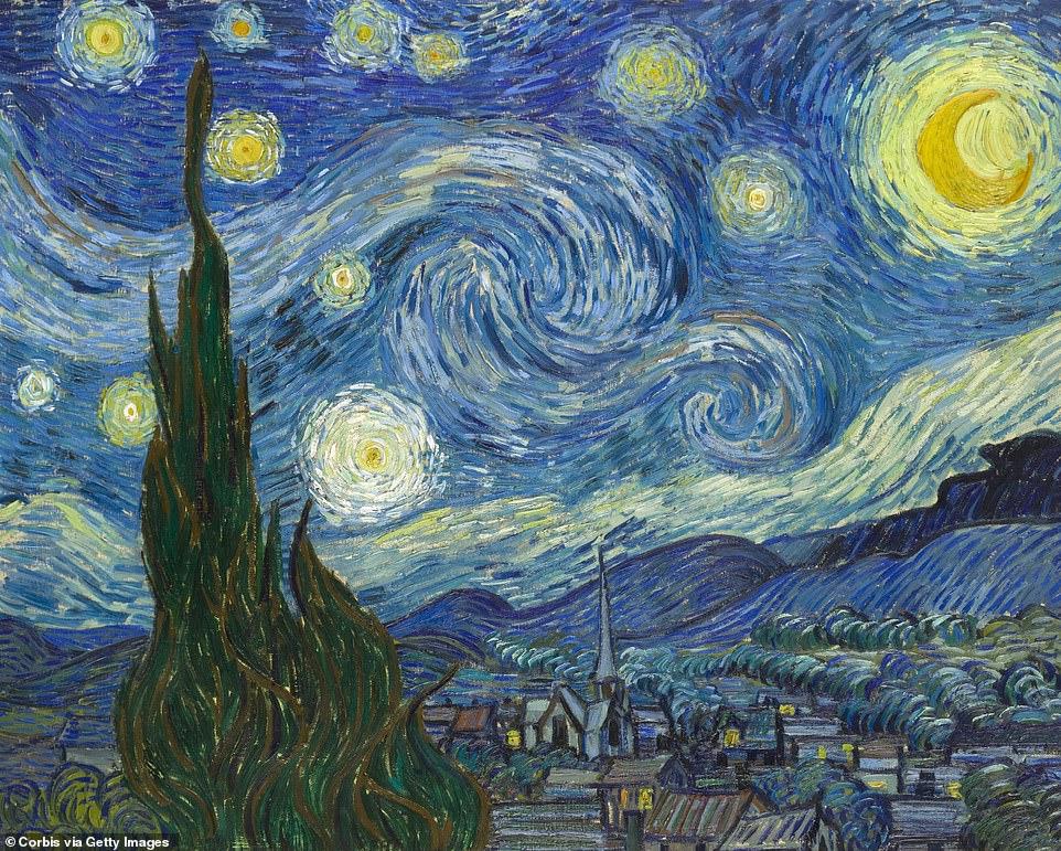維吉尼亞天空驚現「巨型白雲波浪」 超唯美景象竟撞臉「梵谷名畫」!