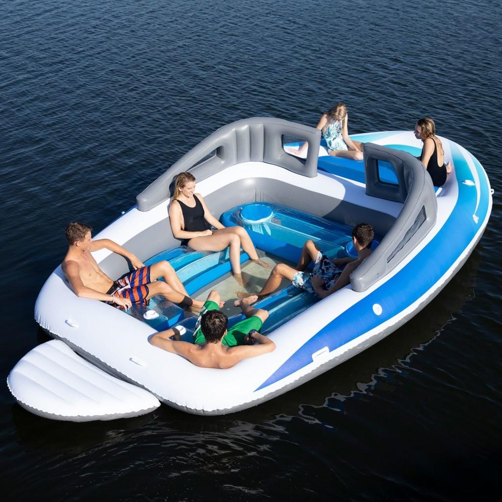 可以開趴的「巨型充氣遊艇」實用度超高!內附「貼心設計」網大推:這艘買得起的QQ