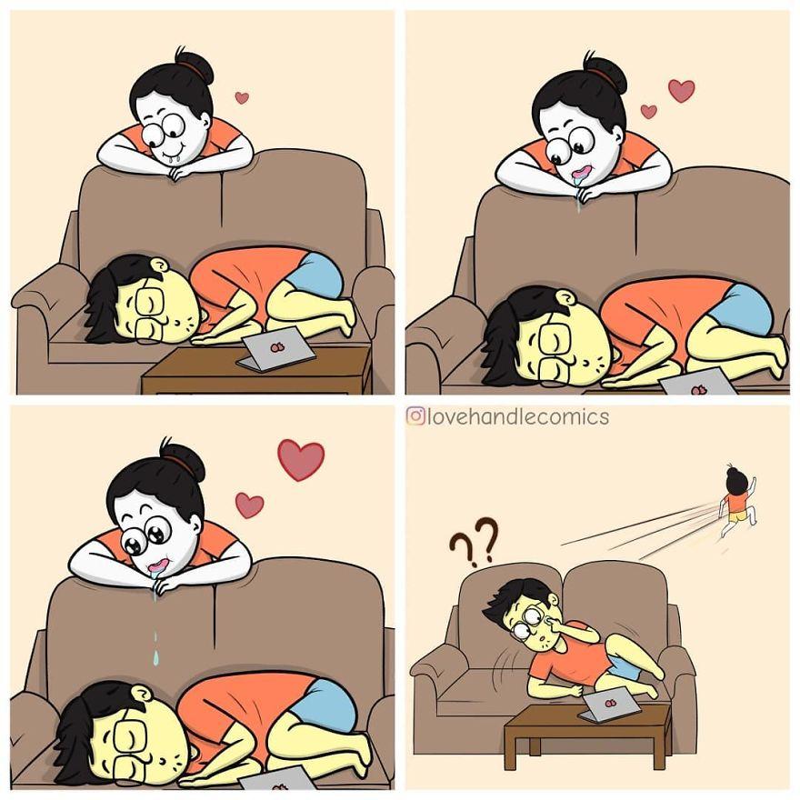20張證明「他就是真命天子」的戀愛漫畫 他的手臂是「全世界最溫暖」的枕頭❤