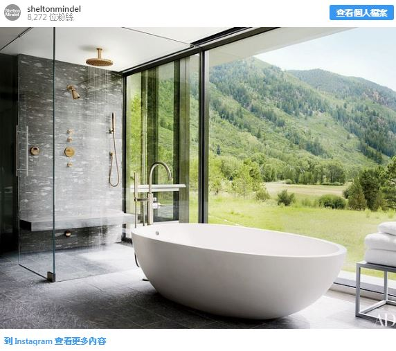 23個「再累都願意乖乖洗澡」的超狂浴室設計 他把蓮蓬頭直接「搬到森林裡」!