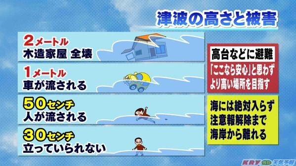日本緊張警告「1公尺海嘯來了」被網友嘲笑!看完影片才知「一點都不好笑」:100%致死