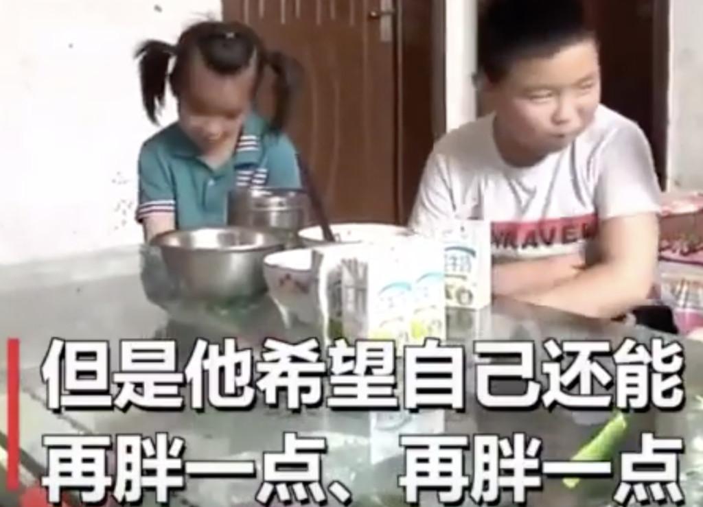 11歲男孩許願「胖到50公斤」 網看完「超心酸原因」爆淚…他:為了爸爸什麽都值得!