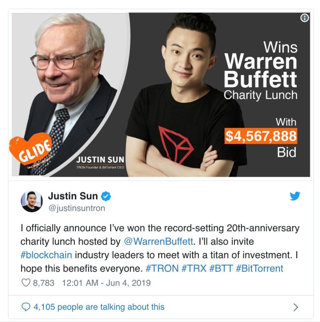 28歲男花「14億天價」標下一頓午餐 「重量級主角」曝光網超羨慕:聊天就值了!