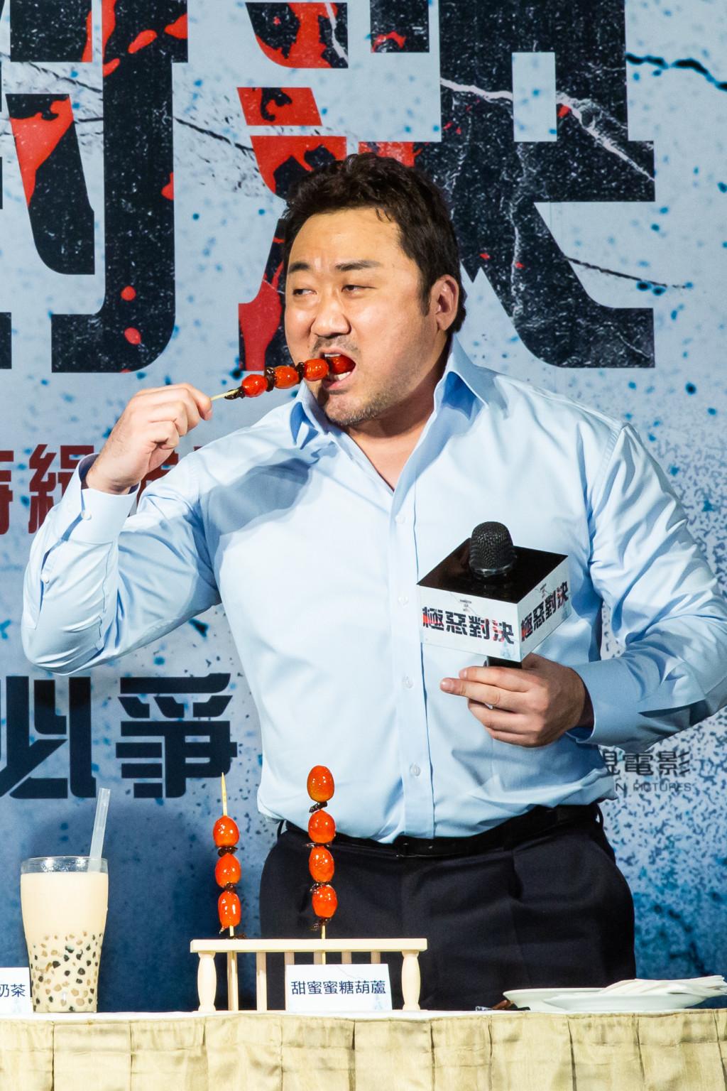 馬東石新戲《極惡對決》票房「贏過復仇者」 他來台宣傳「迷上這一味」飆台語超可愛!