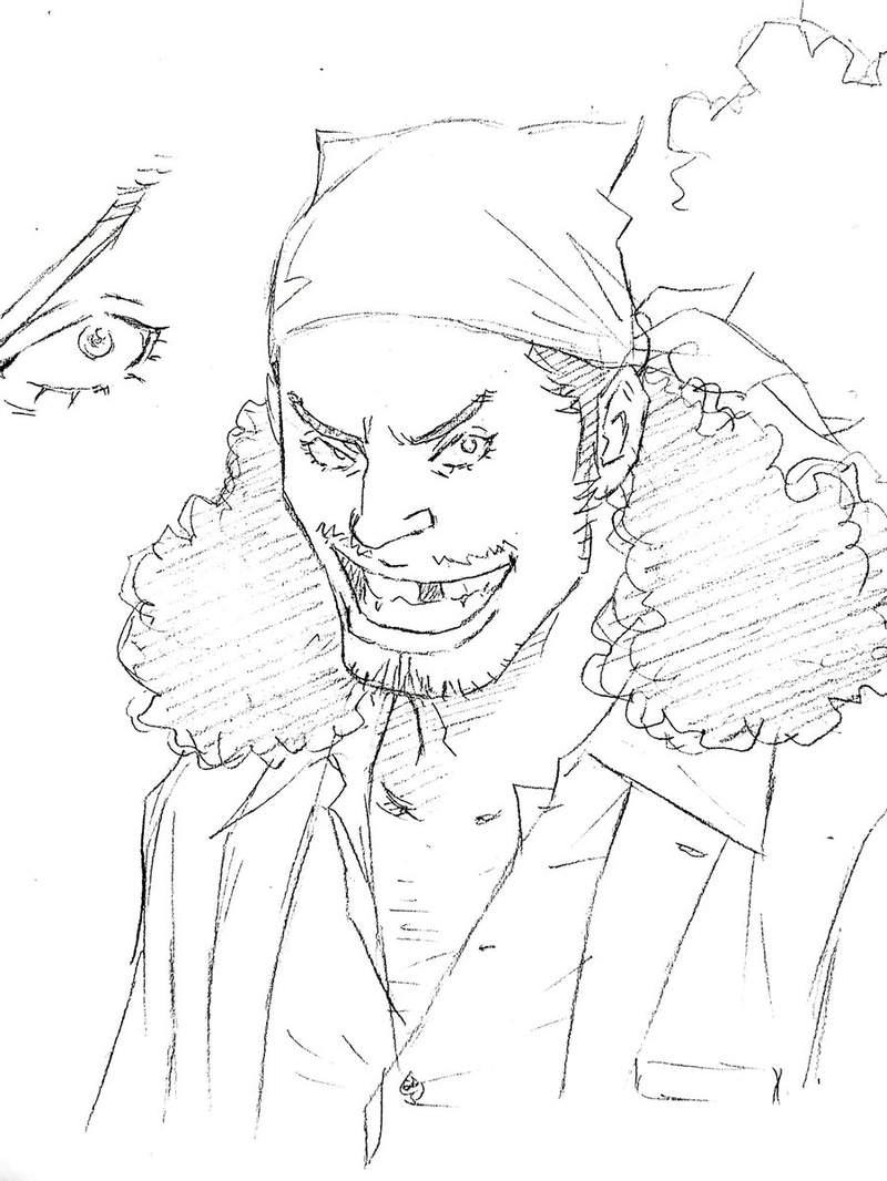 窪之內英策的「校園風《航海王》」人設大曝光 鷹眼的「小刀」就是索隆哭的原因!