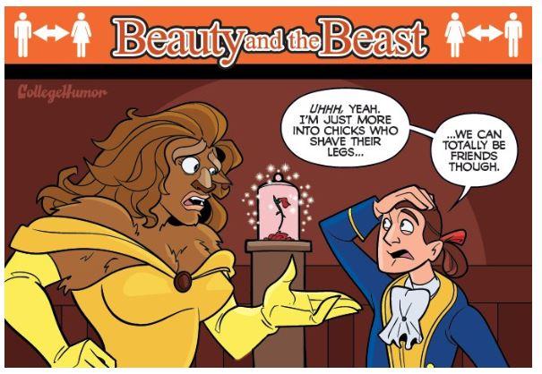 8張「如果迪士尼發生在現實世界」的超真實展開 「睡美人的真心話」直接毀了你的童年!
