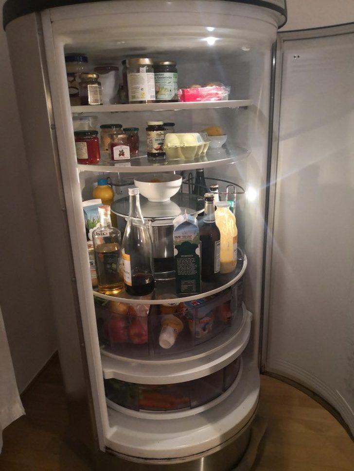 20個把平凡物品「變成訂製款永恆」的超酷設計 「旋轉式冰箱」買再多都塞的下!