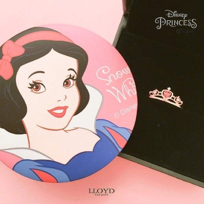 潮牌推超夢幻迪士尼「公主皇冠戒指」!灰姑娘專屬「桃形奧地利藍」太有皇室氣息❤