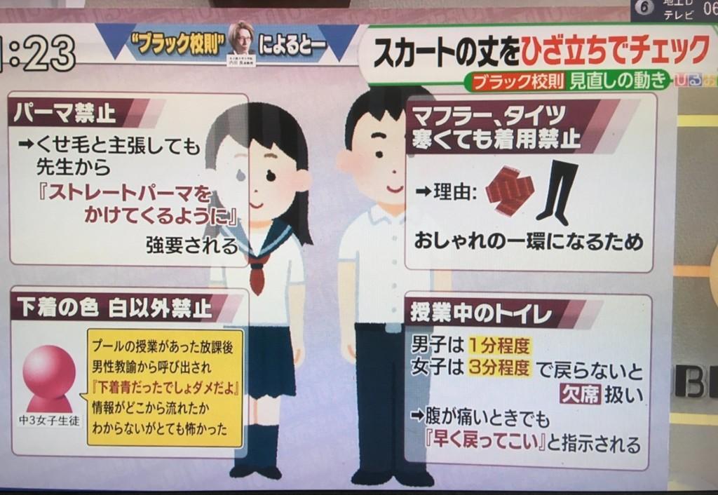 讓人看了想翻白眼「4大日本傳統校規」!女生小褲褲「老師必查」只能穿一種樣式