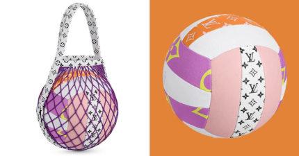 LV推出「超天價尊榮排球」!買1顆「抵30顆」網友大驚:殺球真的會心痛QQ