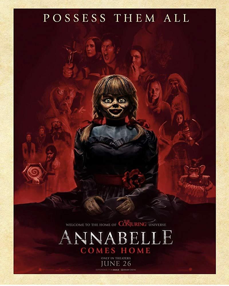 影評/《安娜貝爾回家囉》喚醒所有惡靈 感受前所未有的恐懼…緊張程度百分百!