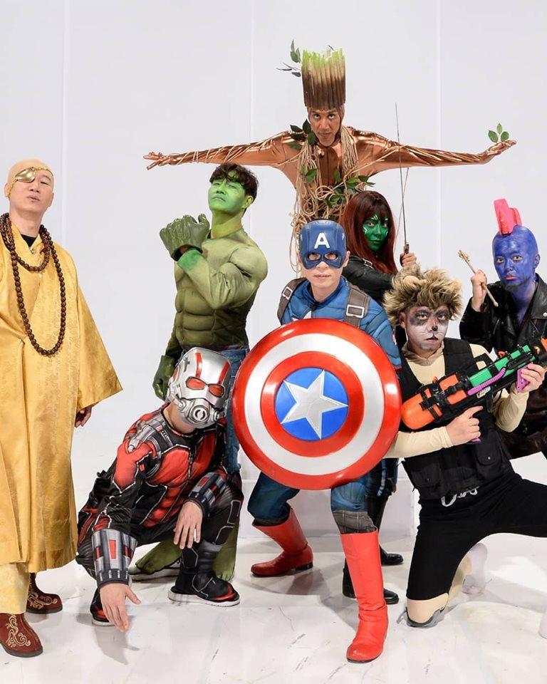 影/《Running Man》上演終局之戰!全員化身復聯英雄 「超奇葩造型」卻讓網笑翻!
