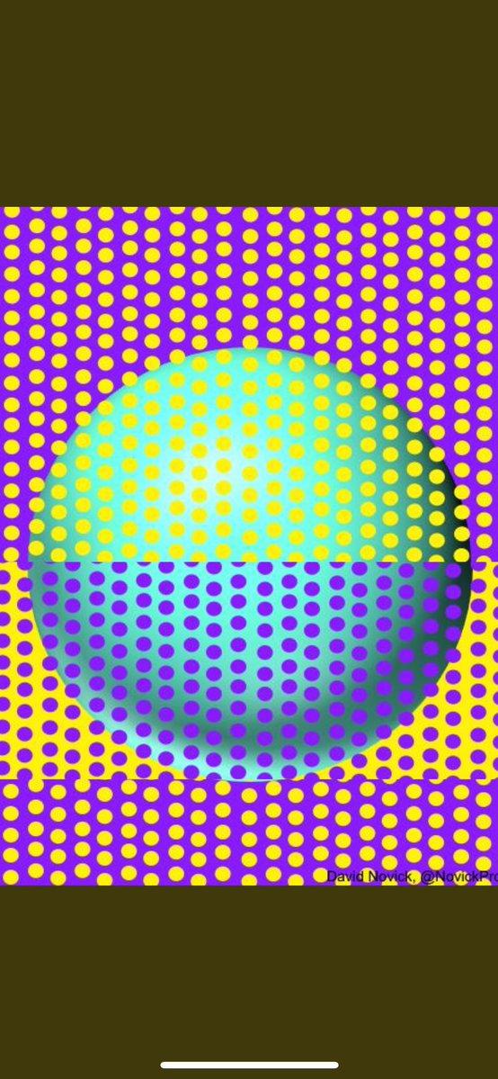 眼睛測試!網瘋傳「2個相同顏色球體」圖片 合在一起後...讓人不願相信啦
