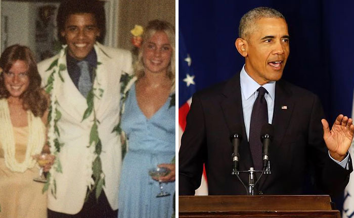 14位名人們「當年參加畢業舞會」的超詭異造型 歐巴馬竟然把「樹葉」掛身上!