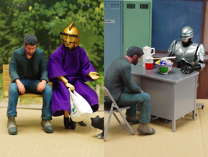 神人做出「孤獨的基努李維」實體化小公仔 怎樣都「開心不起來」連鋼鐵人都來安慰!