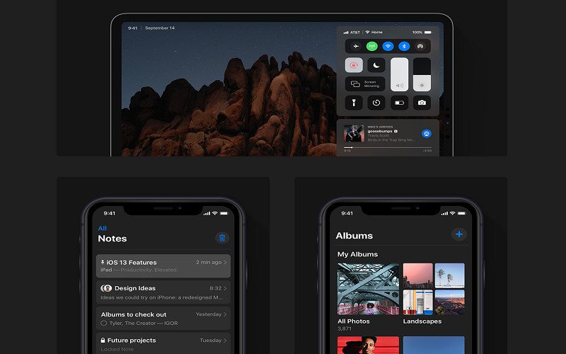 蘋果推全新iOS 13「黑暗模式」 速度「全面大升級」網讚爆:等你很久了!