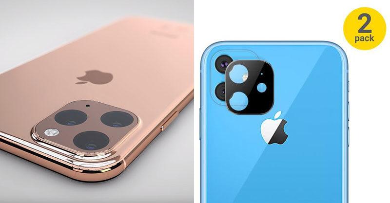 蘋果配件商搶先曝光「iPhone 11」機密設計 史上最醜「方型鏡頭」真的成真!