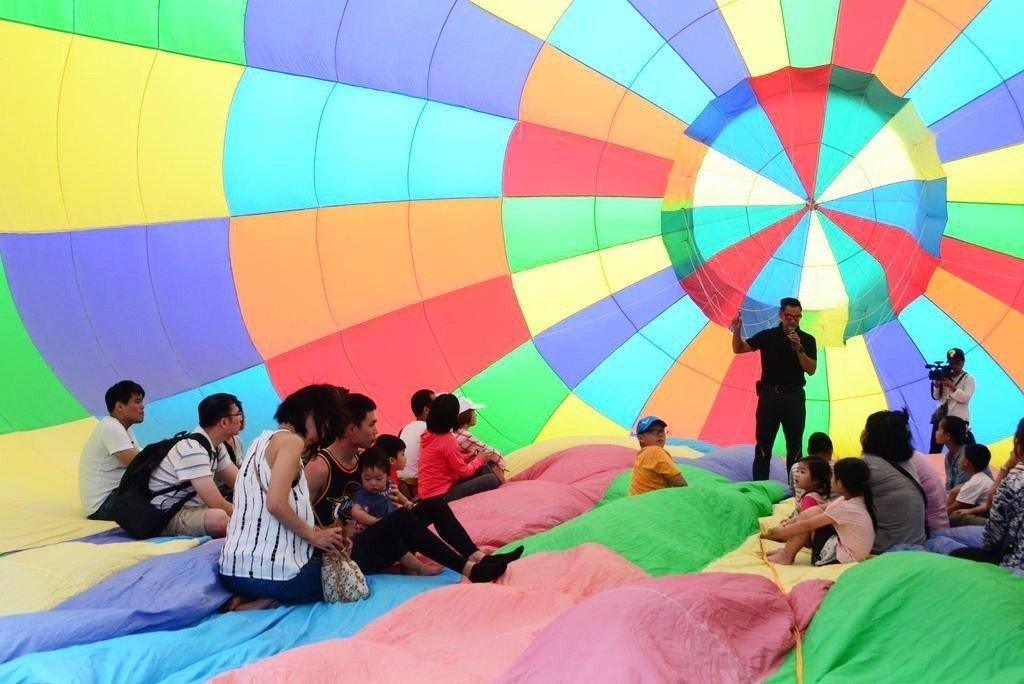 桃園石門「熱氣球嘉年華」開跑!連續9天「搭小小兵升空」 4項長知識活動全免費