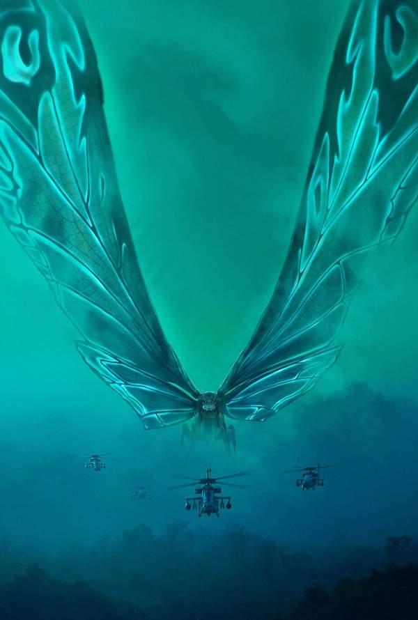 《哥吉拉2》上映後被「摩斯拉」圈粉 繪師畫「擬人化御姐圖」CP感大爆發!