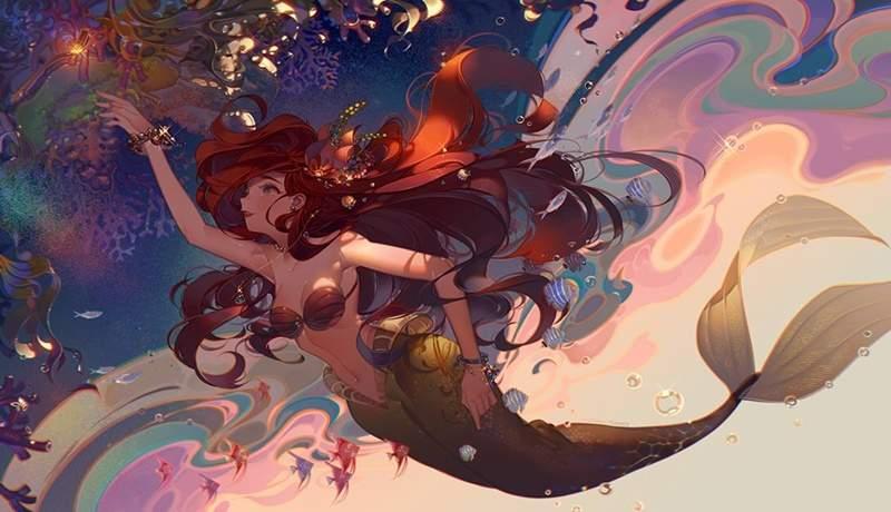 迪士尼公主從「歐美風 →日系」會長什麼樣?「白雪公主」秒變宅男最愛的超正女僕!
