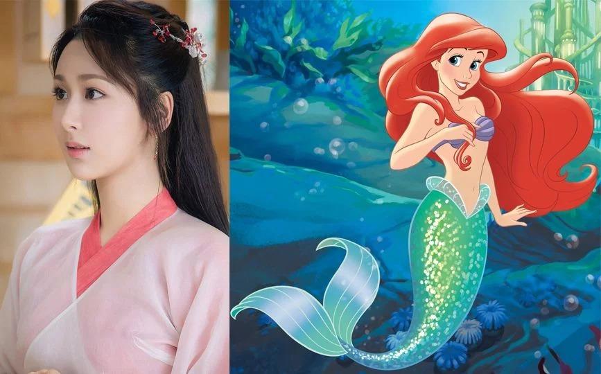 「亞洲版」迪士尼公主名單曝光!網推「張鈞甯」演貝兒 小美人魚演員被讚爆