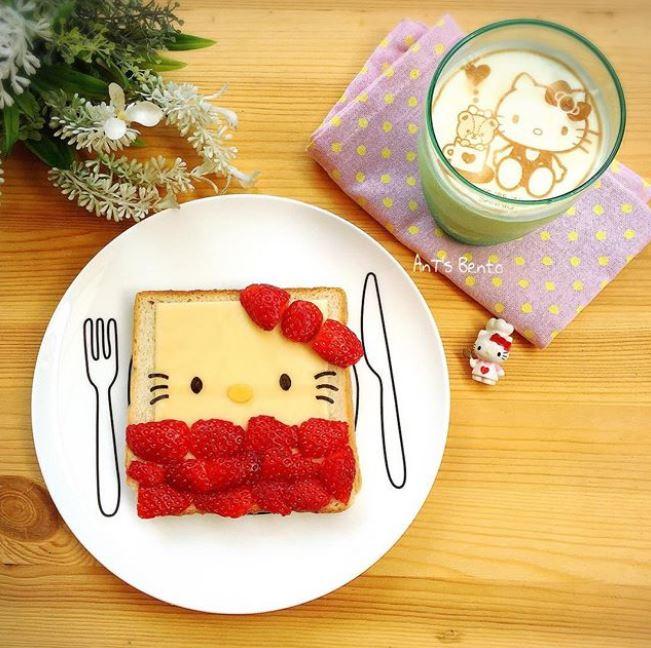 手殘也OK!神手媽媽做出「超可愛卡通吐司」當每天早餐 「超簡單步驟」光看照片你就會做了~