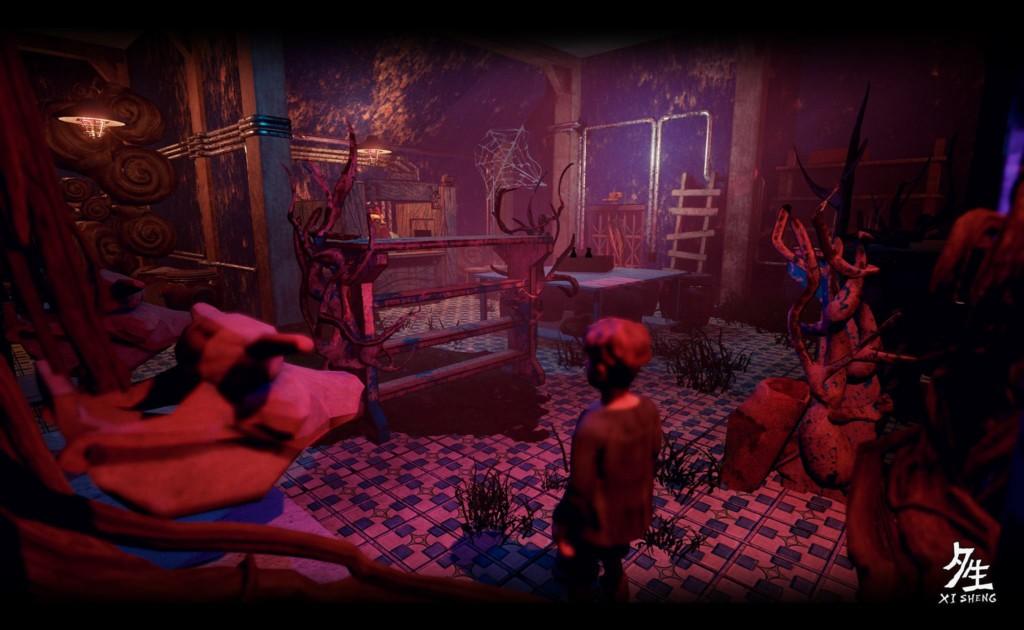台獨立團隊創出「傳統文化感」恐怖遊戲《夕生》 中台語交錯驚悚...「鬼月開玩」!