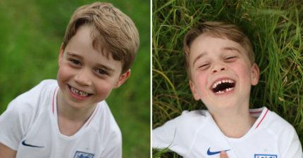 喬治王子求「低調」過生日 攝影師捕捉「超強髮際線」網秒歪樓:基因太強