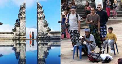 峇里島最美必拍景點「是假的」!天堂之門網美照「拍攝真相」曝光...全靠收費專家