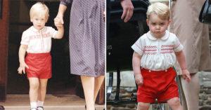 14個喬治王子根本是「迷你版威廉」的可愛時刻 連「不爽的表情」都一樣!