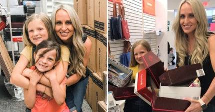 女兒求幫「鞋子太小」的同學換鞋 媽媽「被善良感動」超霸氣:1500雙我全包!