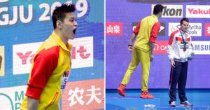 影/中國泳將「爭議太多」英國世敵拒同台 孫楊「奪金領獎」囂張嗆:你是魯蛇!