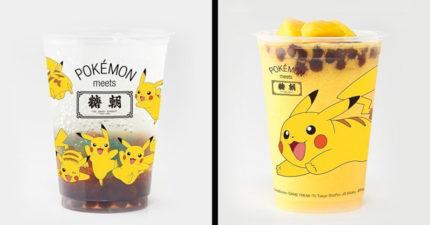 日本推出6種超萌「寶可夢」手搖飲料!「超夢口味」顏色超夢幻...太適合夏天啦