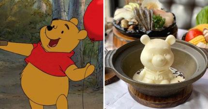 超人氣「小熊維尼牛奶鍋」就在台灣!熱湯倒下去「維尼分裂」畫面超治癒❤